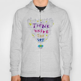 Think inside the box Hoody