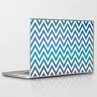 chevron Laptop & iPad Skins featuring Chevron by David Zydd