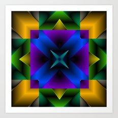 Mandala6 Art Print