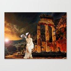 Ruin - Pallas Athena Canvas Print