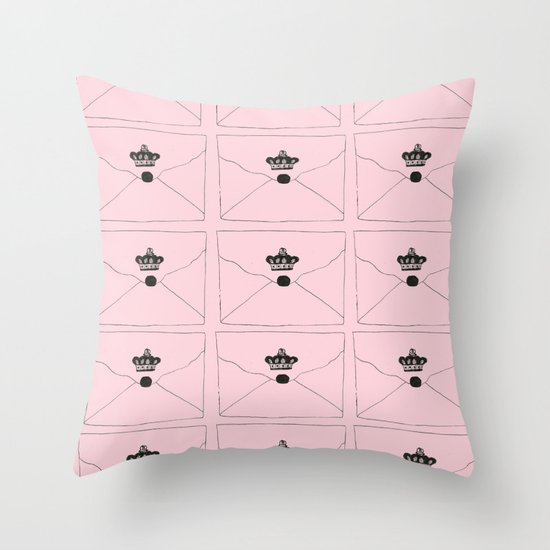The Invitation Throw Pillow