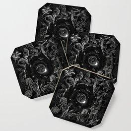 XXI. The World Tarot Card Illustration (Zodiacs) Coaster