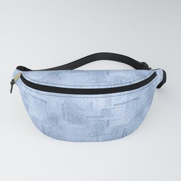 Boro Embroidery Fanny Pack
