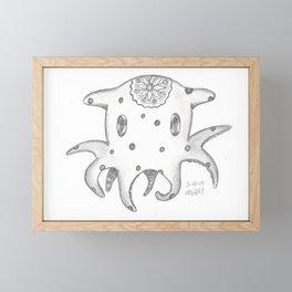 Dumbo Octopus Framed Mini Art Print