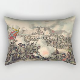 Civil War Assault on Fort Sanders Nov. 29 1863 Rectangular Pillow