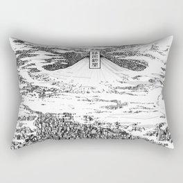 Space upon us Rectangular Pillow