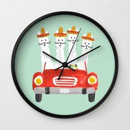 The four amigos Wall Clock