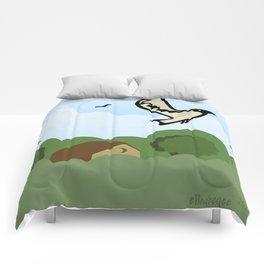 Bird in Flight Comforters