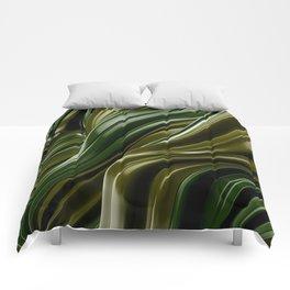Green Wave Comforters