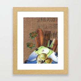 I Like Turtles Framed Art Print