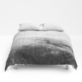 Moody clouds 1 Comforters