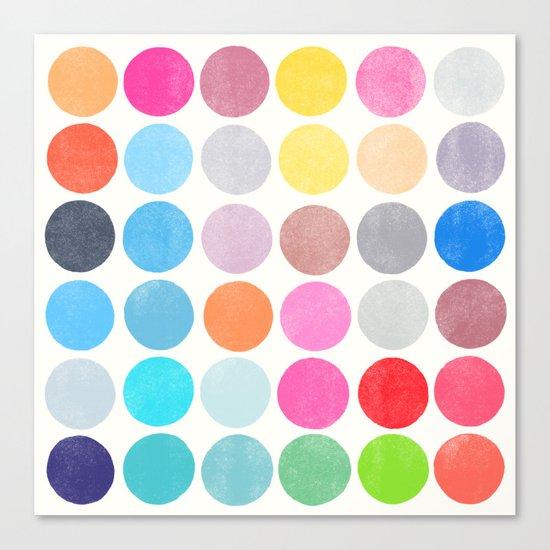 colorplay 9 Canvas Print