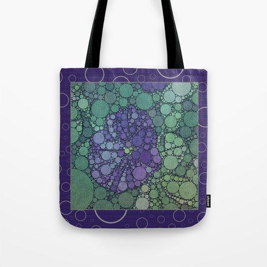 Percolated Purple Potato Flower Reboot  Tote Bag