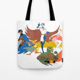 Gatchaman Tote Bag