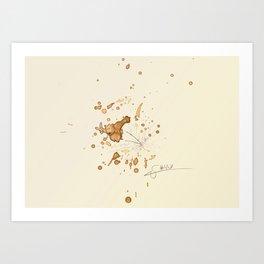 #coffeemonsters 447 Art Print