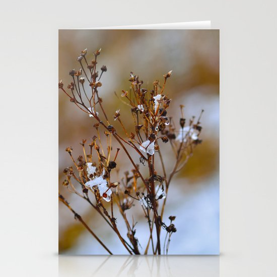 Frosty Days Stationery Cards