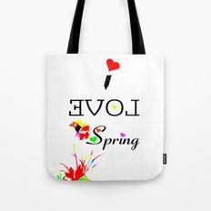 I LOVE SPRING  Tote Bag