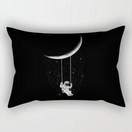 Moon Swing Rechteckiges Kissen