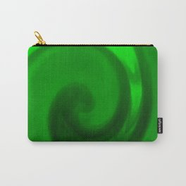 Green tie dye Carry-All Pouch