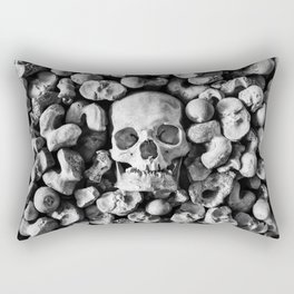 Empty Eyes Rectangular Pillow