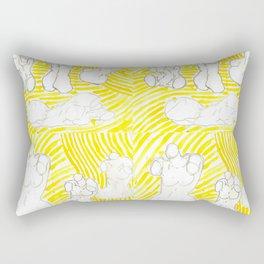 Torso Print Rectangular Pillow