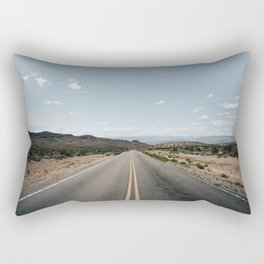 Open Road - Moapa Valley, NV Rectangular Pillow