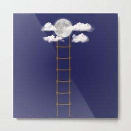 Escalera a la luna Metal Print