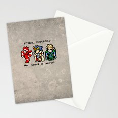 We Need A Hero Stationery Cards