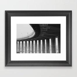 Tromsø bridge 1 Framed Art Print