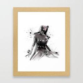 Fetish painting Framed Art Print