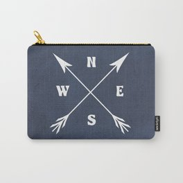 Compass arrows Carry-All Pouch