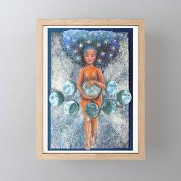 La Luna Framed Mini Art Print
