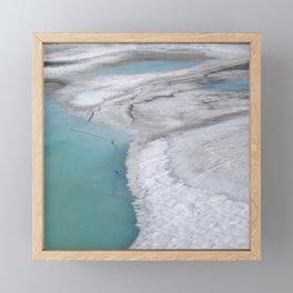 Glacier Framed Mini Art Print