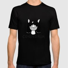 Conundrum Mens Fitted Tee X-LARGE Black