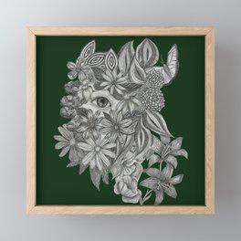 Hiding Framed Mini Art Print