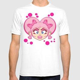 Dominique and Bubbles! T-shirt