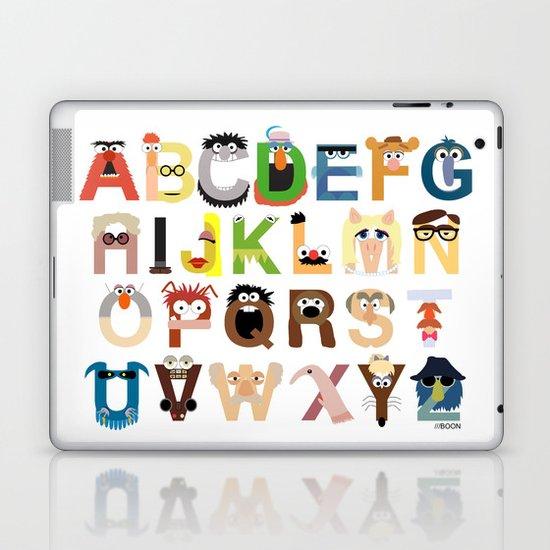 Muppet Alphabet Laptop & iPad Skin