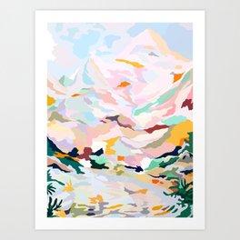 alpine Art Print