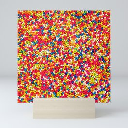 Round Sprinkles Mini Art Print