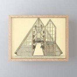 Antiquarian Greenhouse Framed Mini Art Print