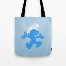 KRAZY BLUE Tote Bag