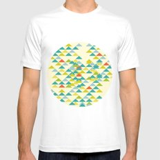 Summer Picnic Mens Fitted Tee MEDIUM White