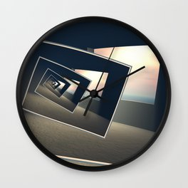 Surreal Windows Wall Clock