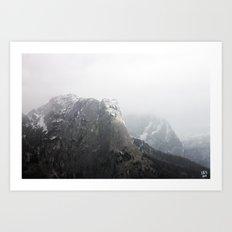 Ausseer Berge II Art Print