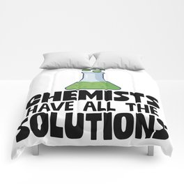 Chemists Have All The Solutions Comforters