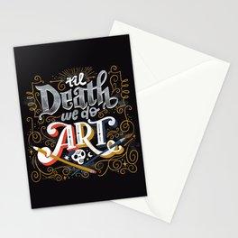 Til Death We Do Art Stationery Cards