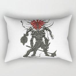 Against Man Rectangular Pillow