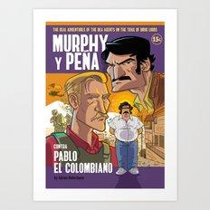 Murphy y Pena Art Print