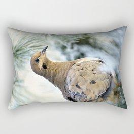 Mourning Dove Rectangular Pillow