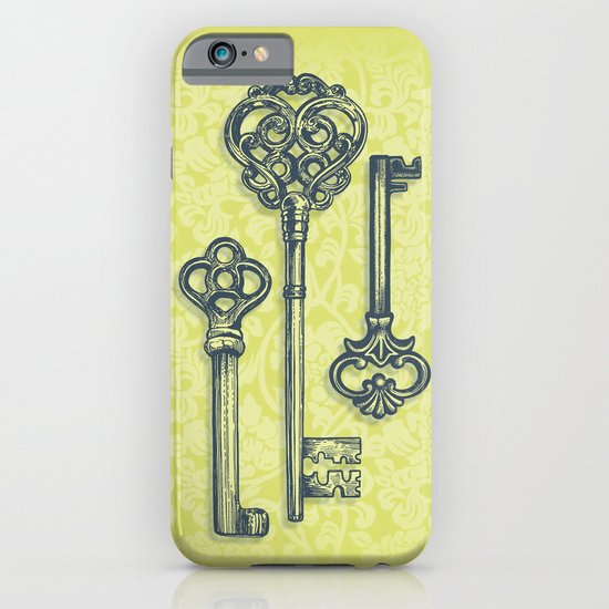 Three Skeleton Keys iPhone & iPod Case